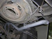 Volkswagen LT 46 2.5 TDi haszongépjármű kipufogó kivezetőcső