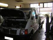 Volkswagen LT 46 2.5 TDi tehergépjármű kipufogó javítás, csere