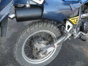 Kawasaki KLR 650 sportkipufogó dob