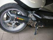 Motorkerékpár kipufogódob szerelés, csere