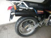 Yamaha motorkerékpár tuning kipufogódob rozsdamentes díszvéggel