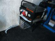 Mobil aggregátor kipufogódob, flexibiliscső, kivezetőcső gyártás