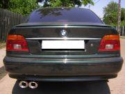 BMW 530D sportkipufogó dupla ovál véggel 1