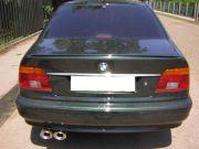 BMW 530D sportkipufogó dupla ovál véggel 3