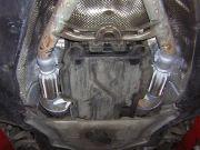 BMW 740 V8 turbo diesel flexibilis kipufogó csövek