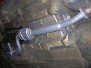 BMW compact 316i katalizátor, kipufogódob csere tartozékokkal