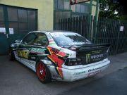 BMW drift versenyautó sportkipufogó rendszer gyártás
