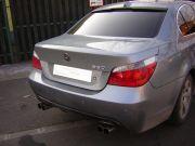 BMW dupla csöves sport kipufogó