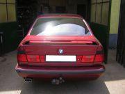 BMW E34 520i 24V hátsó kipufogó dob tuning véggel