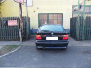 BMW E36 2.5i Compact hátsó kipufogódob dupla saváll+¦ kivezetőcsővel