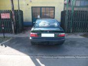 BMW E36 318i sportkipufogó hátsódob dupla saválló díszvéggel