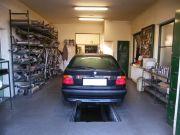 BMW E36 Compact kipufogó szerelés, csere