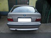 BMW E36 Compact sportkipufogó hátsódob kerek rozsdamentes díszvéggel