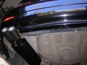 BMW E46 320d turbo diesel hátsó sportkipufogó dob
