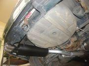 BMW E46 320i hátsó kipufogódob dupla kerek saválló díszvéggel