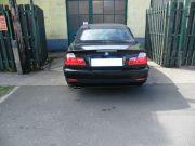 BMW E46 330i Cabrio hátsó sport kipufogódob dupla kerek díszvéggel