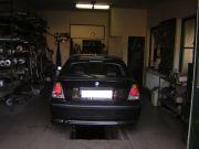 BMW E46 Compact 318ti kipufogó szerelés