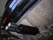 BMW E46 dupla csöves sport kipufogó hátsódob