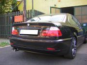 BMW E46 kipufogó tuning