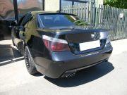 BMW E60 3.0 turbo diesel sportkipufogó hátsódob dupla saválló polírozott díszvéggel