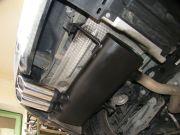 BMW E92 320i sportkipufogó hátsódob csere dupla saválló díszvéggel