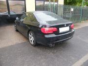 BMW E92 320i sportkipufogó hátsódob dupla rozsdamentes díszvéggel