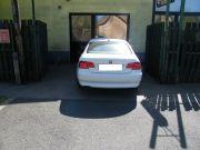 BMW E92 325i sportkipufogó hátsódob kerek saválló iker díszvéggel