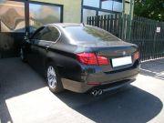 BMW F10 528i sportkipufogó hátsódob dupla kerek rozsdamentes díszvéggel