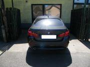 BMW F10 528i sportkipufogó hátsódob dupla kerek saválló polírozott díszvéggel