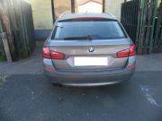 BMW F11 528i sportkipufogó hátsódob dupla kerek rozsdamentes díszvéggel