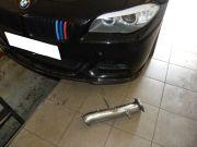 BMW F11 535i Twin Power turbo rozsdamentes tuning első kipufogócső készítés tartozékokkal