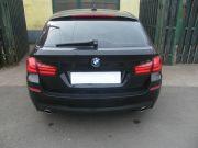 BMW F11 535i twin turbo sportkipufogó hátsó dobok saválló díszvéggel