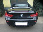 BMW F12 640i twin turbo hátsó sportkipufogó hátsó dobok rozsdamentes kerek díszvéggel
