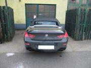 BMW F12 640i twin turbo sportkipufogó hátsó dobok rozsdamentes kerek díszvéggel
