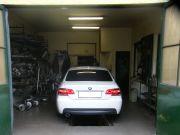 BMW kipufogó javítás, szerelés