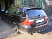 BMW kipufogó optikai tuning