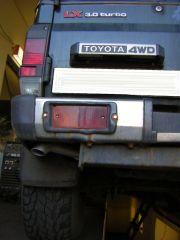 Toyota 4WD kipufogó cső szerelés