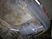 Toyota Corolla hátsó kipufogó dob csővel, felfüggesztővel