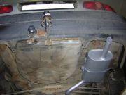 Toyota Corolla kipufogó hátsó dob tartópánttal