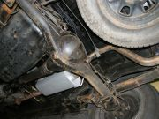 Toyota Hilux turbo diesel utángyártott kipufogódob csere