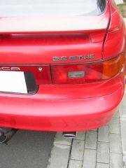 Toyota kipufogó hátsó dob tuning véggel