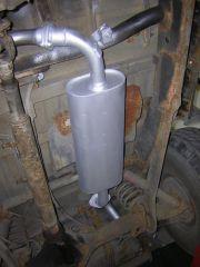 Toyota Landcruiser 3.0 turbo diesel kipufogó dob csövekkel