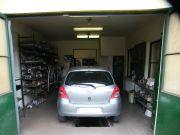 Toyota Yaris kipufogó szerelés, javítás