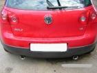 VW Gollf V sport hátsódob dupla 85-ös véggel