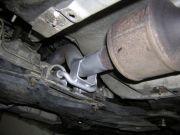Volkswagen Bora kipufogó tartó javítás