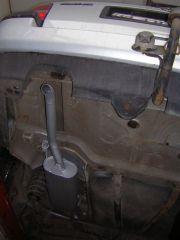 Volkswagen Golf III kombi hátsó kipufogó dob kivezető csővel