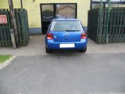 Volkswagen Golf IV 1.6 hátsó sport kipufogódob dupla kerek díszvéggel