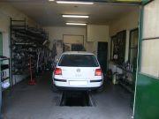 Volkswagen Golf IV kipufogó szerelés, csere