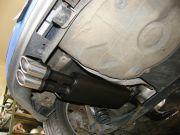 Volkswagen Golf IV sportkipufogó hátsódob csere dupla rozsdamentes kerek polírozott díszvéggel