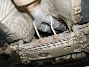 Volkswagen Golf V 1.6i iker flexibilis kipufogócső csere